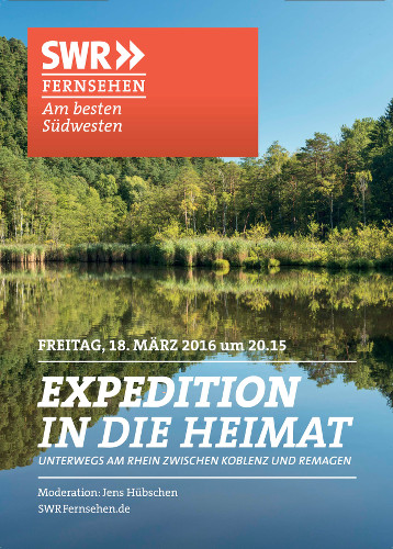 "Plakat ""Expedition in die Heimat"""
